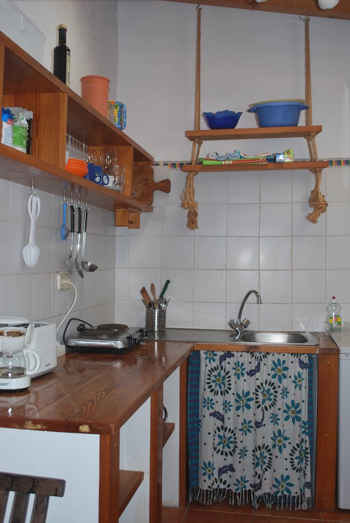 Casinha 2 Kitchen - Casinhas da Figueira West Algarve Apartments